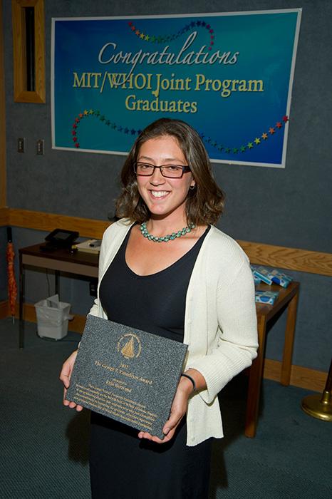 2012 Panteleyev Award Recipient, Erin Bertrand.